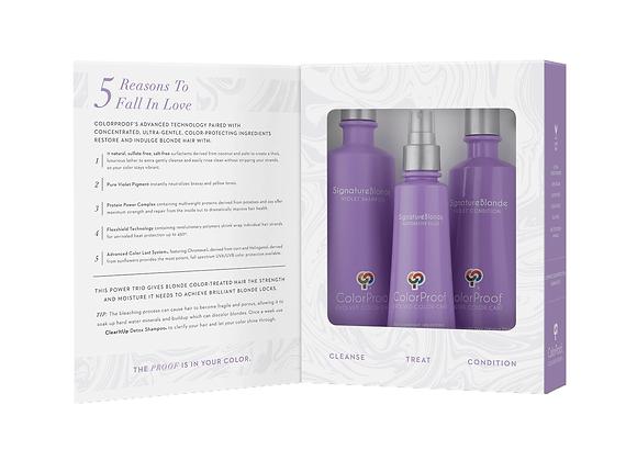 ColorProof - Violet Shampoo, Violet Conditioner, Restorative Filler