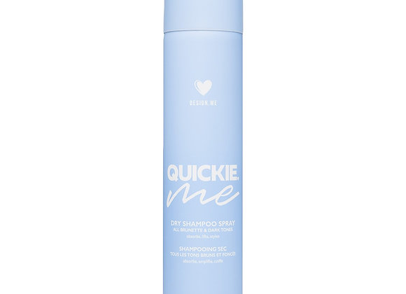 Design.Me Quickie.Me Dry Shampoo Spray for Dark Tones Size 7 oz.