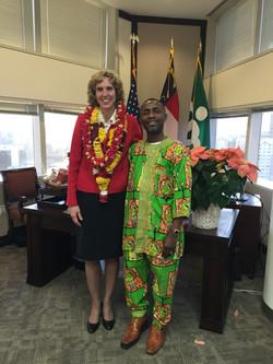 NGSC and Charlotte Mayor