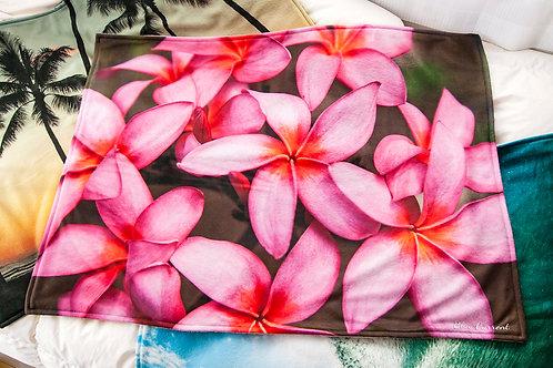 【ブランケット】Plumeria Pink