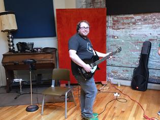 Kevin McGrath - Our Bassist