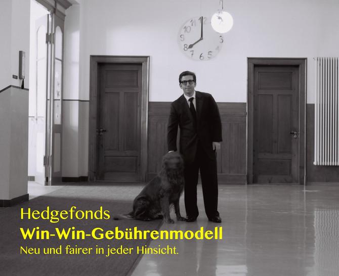 Hedgefonds Win-Win-Gebührenmodell – Neu und fairer in jeder Hinsicht.