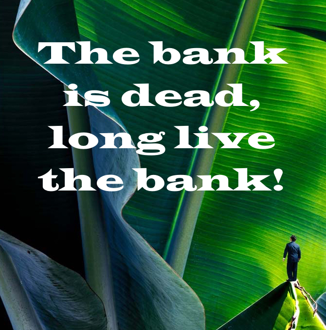The bank is dead, long live the bank! - Spiros Margaris SKM