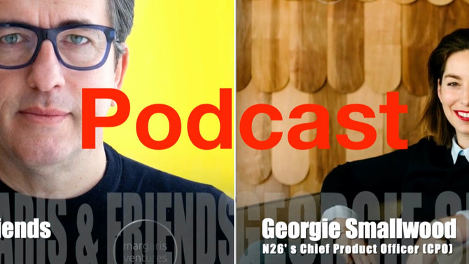 My first podcast interview episode '@spirosmargaris & friends' is with Georgie Smallwood