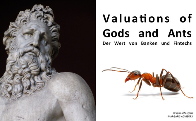 Valuations of Gods and Ants: Der Wert von Banken und Fintechs
