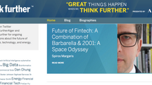 Future of Fintech. A Combination of Barbarella & 2001: A Space Odyssey