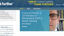 Future of Fintech. A Combination of Barbarella & 2001: A Space Odyssey