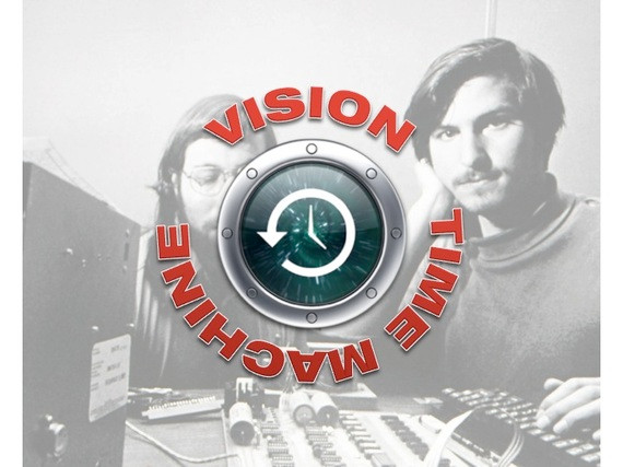 Missing Steve Jobs. The Vision Time Machine