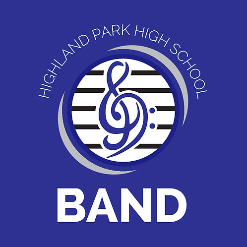 ALL STUDENTS - Blue HPHS Band Shirt