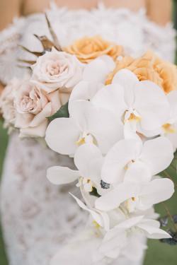 Modern Tropical Boho Bridal Bouquet