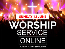 Sunday 13th June Service