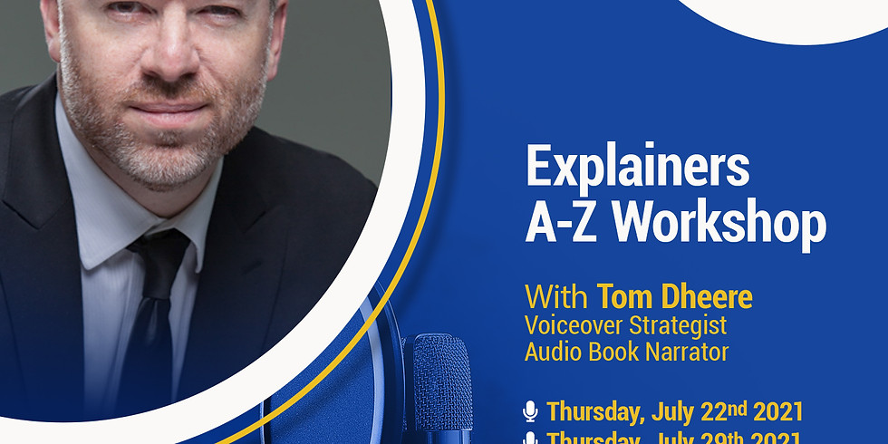 The VoiceOver Network presents: Explainers A-Z Workshop