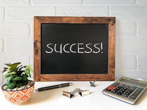 success photo
