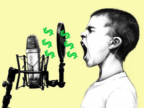Money And Voiceovers – The Not Silent Blog 3/19/19