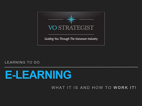 VO How-To: Learning to do eLearning