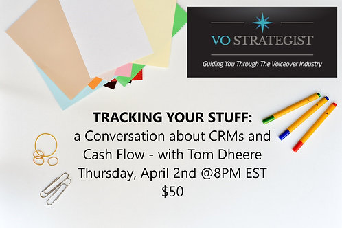 Tracking Your Stuff: A Conversation About CRM's and Cash Flow
