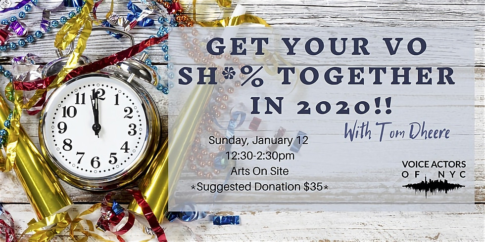Get YOur Sh*% Together in 2020!