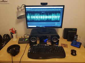 Voiceovers And My New Computer – The Not Silent Blog 6/26/18