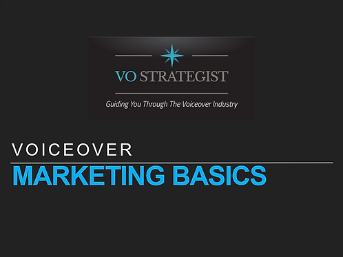 VO How-To: Voiceover Marketing Basics