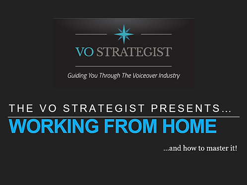 VO How-To: Working From Home