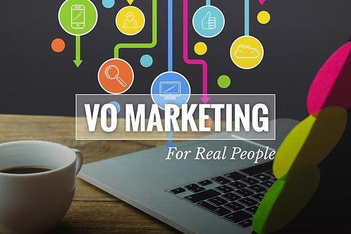 Voiceover Marketing Basics