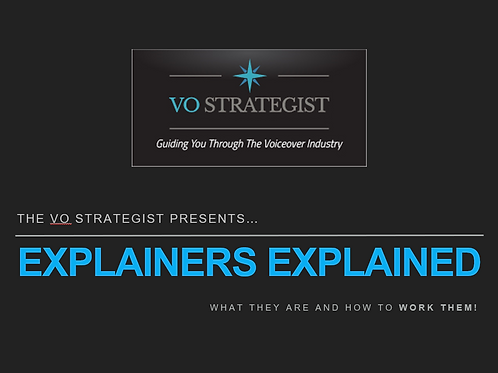 VO How-To: Explainers Explained
