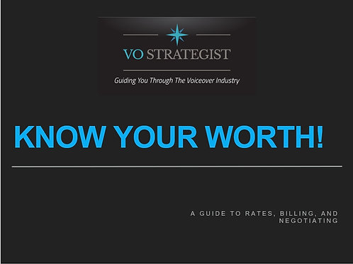 VO How-To: Know Your Worth