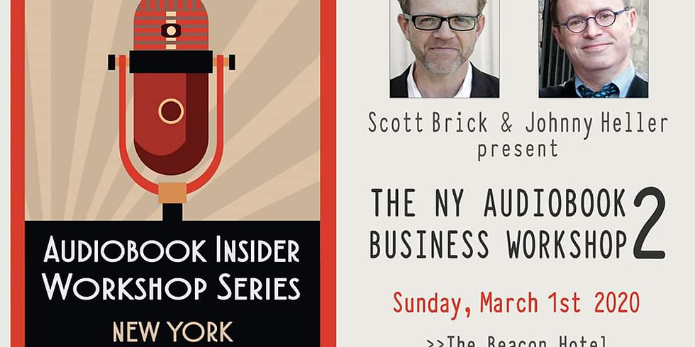 The NY Audiobook Business Workshop 2