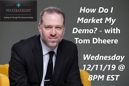 How do I Market my Demo?