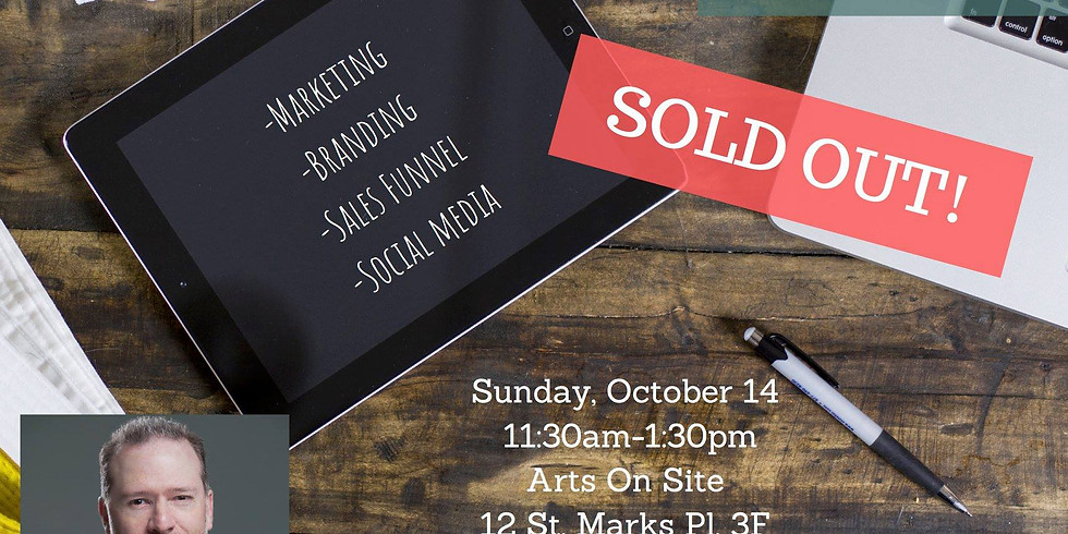"""VO of NYC Workshop """"Marketing For VO"""""""