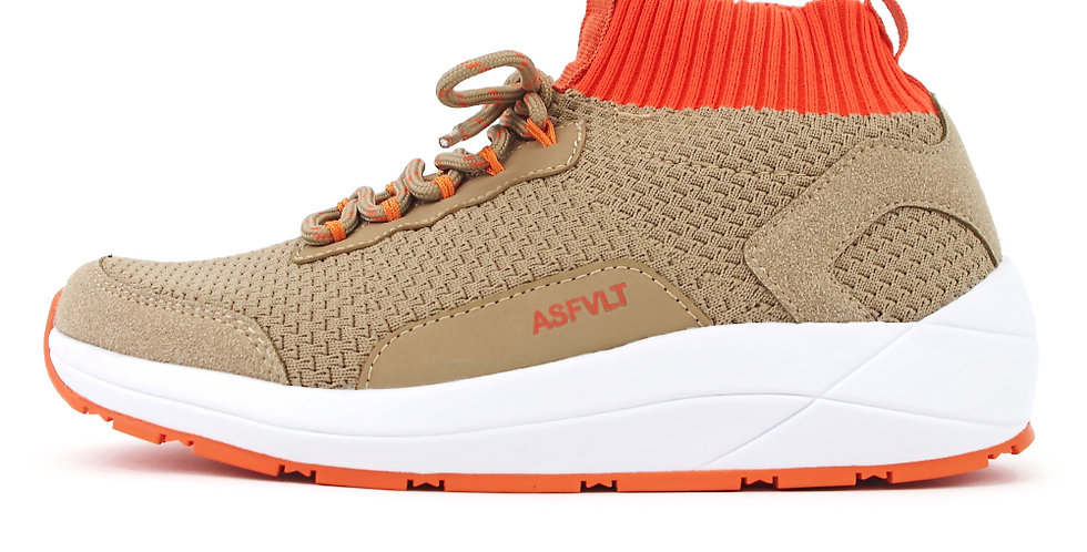 【ASFVLT アスファルト】PURSUIT MID SAND ORANGE