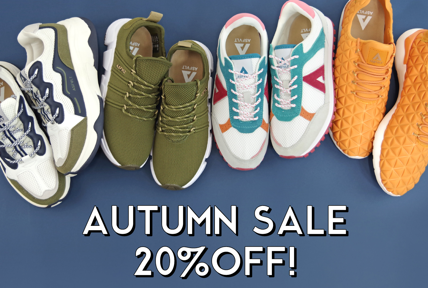 AUTUMN SALE 20%OFF!