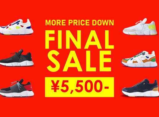 FINAL SALE!人気アイテムが¥5,500!!