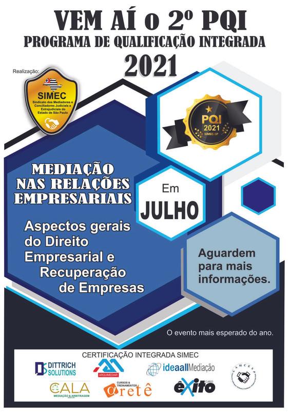 VEM AÍ O 2º PQI PROGRAMA DE QUALIFICAÇÃO INTEGRADA 2021