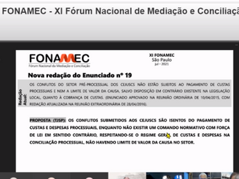 FONAMEC APROVA ENUNCIADO E CRIA PREOCUPAÇÃO PARA CATEGORIA