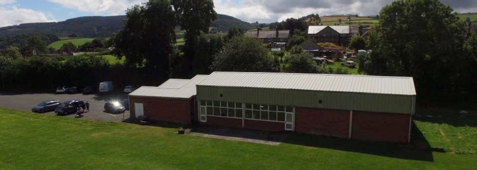 View ofClun Memorial Hall