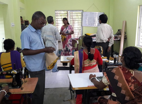Skill Up-Gradation & Market Linkage on Tailoring & Embroidery