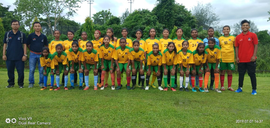 NRL Football Academy Girls Team