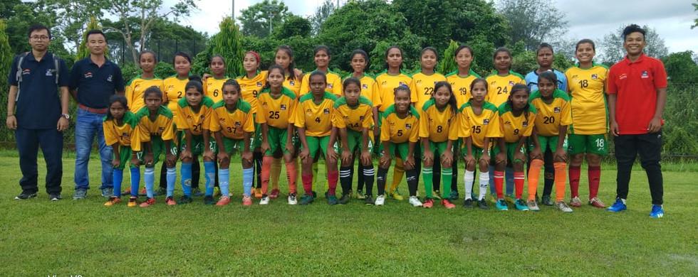 NRL Football Academy Girls Team