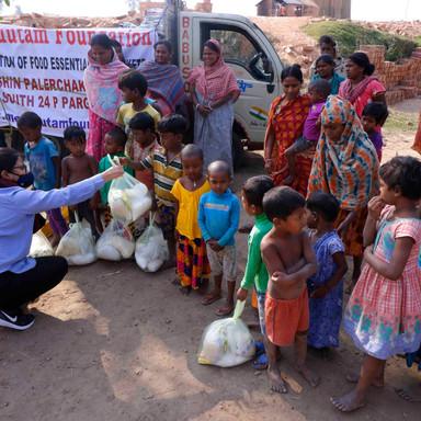 Supporting Children and Women at Kultali Brick Fields