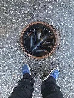 Clear Manhole