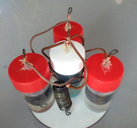Réacteur plasma v2 keshe sans fil
