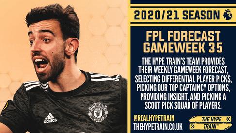 Premier League 2020/21: FPL Gameweek 35 Fantasy Forecast