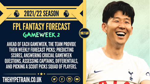 Premier League 2021/22 Season: FPL Gameweek 2 Fantasy Forecast