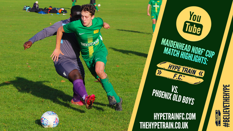 Maidenhead Norfolkian Cup Highlights - 2020/21 Season: Hype Train FC vs. Phoenix Old Boys