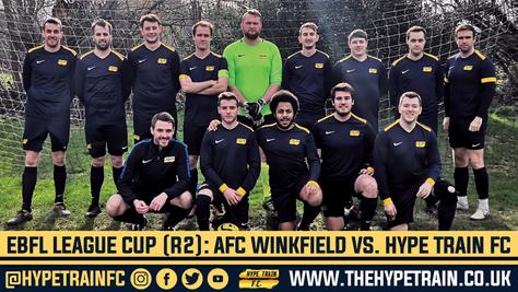 EBFL League Cup (Round 2): AFC Winkfield 1-2 Hype Train FC