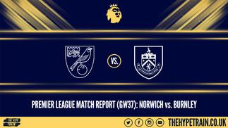 Premier League Match Report (18/07/20): Norwich 0-2 Burnley