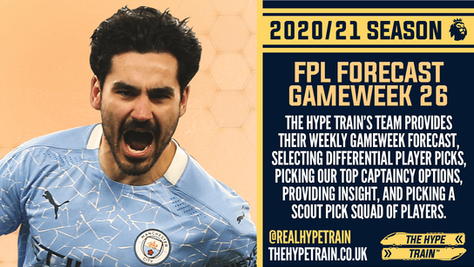 Premier League 2020/21: FPL Gameweek 26 Fantasy Forecast
