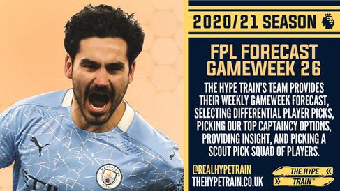 Premier League 2020/21: FPL Gameweek 26 Fantasy Forecast