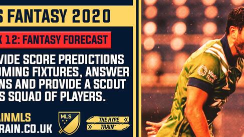 MLS Fantasy 2020: Week 12 Fantasy Forecast